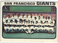 SAN FRANCISCO GIANTS VINTAGE TEAM CARD #90115C