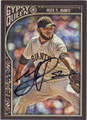 YUSMEIRO PETIT SAN FRANCISCO GIANTS AUTOGRAPHED BASEBALL CARD #90515A