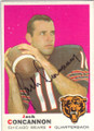JACK CONCANNON CHICAGO BEARS AUTOGRAPHED VINTAGE FOOTBALL CARD #90515F