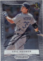 ERIC HOSMER KANSAS CITY ROYALS AUTOGRAPHED BASEBALL CARD #91415A