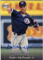DEREK JETER NEW YORK YANKEES AUTOGRAPHED ROOKIE BASEBALL CARD #91515G