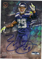 EARL THOMAS SEATTLE SEAHAWKS AUTOGRAPHED FOOTBALL CARD #91515J