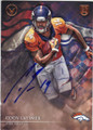 CODY LATIMER DENVER BRONCOS AUTOGRAPHED ROOKIE FOOTBALL CARD #91915E