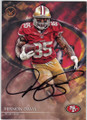 VERNON DAVIS SAN FRANCISCO 49ers AUTOGRAPHED FOOTBALL CARD #100515B