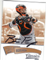 BUSTER POSEY SAN FRANCISCO GIANTS AUTOGRAPHED BASEBALL CARD #100515G