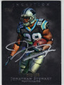 JONATHAN STEWART CAROLINA PANTHERS AUTOGRAPHED & NUMBERED FOOTBALL CARD #100515H