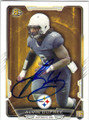 ALVIN DUPREE PITTSBURGH STEELERS AUTOGRAPHED ROOKIE FOOTBALL CARD #100715A