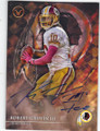 ROBERT GRIFFIN III WASHINGTON REDSKINS AUTOGRAPHED FOOTBALL CARD #100815B