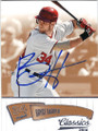BRYCE HARPER WASHINGTON NATIONALS AUTOGRAPHED BASEBALL CARD #101215G