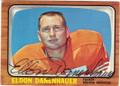 ELDON DANEHAUER DENVER BRONCOS AUTOGRAPHED VINTAGE FOOTBALL CARD #101315C