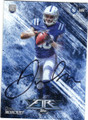 DONTE MONCRIEF INDIANAPOLIS COLTS AUTOGRAPHED ROOKIE FOOTBALL CARD #101515B