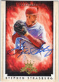 STEPHEN STRASBURG WASHINGTON NATIONALS AUTOGRAPHED BASEBALL CARD #101515D