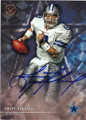 TROY AIKMAN DALLAS COWBOYS AUTOGRAPHED FOOTBALL CARD #101615E