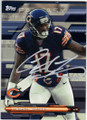ALSHON JEFFERY CHICAGO BEARS AUTOGRAPHED FOOTBALL CARD #101615G