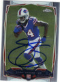 SAMMY WATKINS BUFFALO BILLS AUTOGRAPHED ROOKIE FOOTBALL CARD #110915E