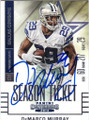 DeMARCO MURRAY DALLAS COWBOYS AUTOGRAPHED FOOTBALL CARD #111415B