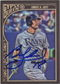 BEN ZOBRIST TAMPA BAY RAYS AUTOGRAPHED BASEBALL CARD #111615J