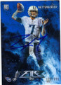 ZACH METTENBERGER TENNESSEE TITANS AUTOGRAPHED & NUMBERED ROOKIE FOOTBALL CARD #111815G