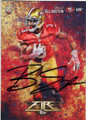 BRUCE ELLINGTON SAN FRANCISCO 49ers AUTOGRAPHED ROOKIE FOOTBALL CARD #111815H