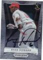 RYAN HOWARD PHILADELPHIA PHILLIES AUTOGRAPHED BASEBALL CARD #111915J