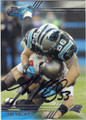 LUKE KUECHLY CAROLINA PANTHERS AUTOGRAPHED FOOTBALL CARD #112015H