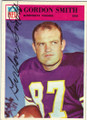 GORDON SMITH MINNESOTA VIKINGS AUTOGRAPHED VINTAGE FOOTBALL CARD #112015J