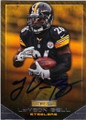 Le'VEON BELL PITTSBURGH STEELERS AUTOGRAPHED FOOTBALL CARD #112115A
