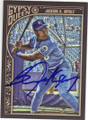BO JACKSON KANSAS CITY ROYALS AUTOGRAPHED BASEBALL CARD #112115E