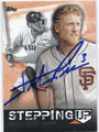 HUNTER PENCE SAN FRANCISCO GIANTS AUTOGRAPHED BASEBALL CARD #112315B
