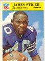 JAMES STIGER DALLAS COWBOYS AUTOGRAPHED FOOTBALL CARD #112315C