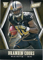 BRANDIN COOKS NEW ORLEANS SAINTS WIDE RECEIVER AUTOGRAPHED ROOKIE FOOTBALL CARD #112315E
