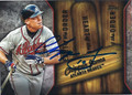 CHIPPER JONES ATLANTA BRAVES AUTOGRAPHED BASEBALL CARD #112315F