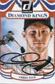 CHRIS SALE CHICAGO WHITE SOX AUTOGRAPHED BASEBALL CARD #112315H