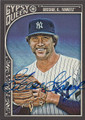 GOOSE GOSSAGE NEW YORK YANKEES AUTOGRAPHED BASEBALL CARD #112315J