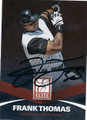 FRANK THOMAS CHICAGO WHITE SOX AUTOGRAPHED BASEBALL CARD #113015F