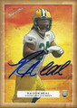 RAJION NEAL GREEN BAY PACKERS AUTOGRAPHED ROOKIE FOOTBALL CARD #120115C