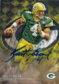 BRETT FAVRE GREEN BAY PACKERS AUTOGRAPHED FOOTBALL CARD #120215K