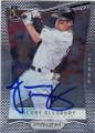 JACOBY ELLSBURY BOSTON RED SOX AUTOGRAPHED BASEBALL CARD #120315G