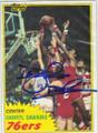 DARRYL DAWKINS PHILADELPHIA 76es AUTOGRAPHED VINTAGE BASKETBALL CARD #120315i