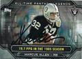 MARCUS ALLEN LOS ANGELES RAIDERS AUTOGRAPHED FOOTBALL CARD #120415G