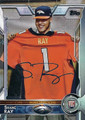 SHANE RAY DENVER BRONCOS DEFENSIVE END AUTOGRAPHED ROOKIE FOOTBALL CARD #120515E