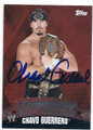CHAVO GUERRERO AUTOGRAPHED WRESTLING CARD #120515G