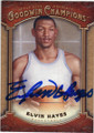 ELVIN HAYES HOUSTON ROCKETS AUTOGRAPHED BASKETBALL CARD #120615D