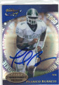 PLAXICO BURESS MICHIGAN STATE UNIVERSITY AUTOGRAPHED ROOKIE FOOTBALL CARD #120715C