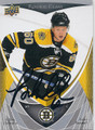 VLADIMIR SOBOTKA BOSTON BRUINS AUTOGRAPHED HOCKEY CARD #120815B