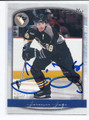 JAROMIR JAGR PITTSBURGH PENGUINS AUTOGRAPHED HOCKEY CARD #120815G
