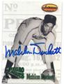 MAHLON DUCKETT AUTOGRAPHED BASEBALL CARD #120815i