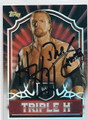 TRIPLE H AUTOGRAPHED WRESTLING CARD #120915B
