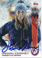 HANNAH KEARNEY AUTOGRAPHED OLYMPIC FREESTYLE SKIING CARD #120915C