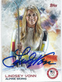 LINDSEY VONN OLYMPIC ALPINE SKIIER AUTOGRAPHED CARD #121015C